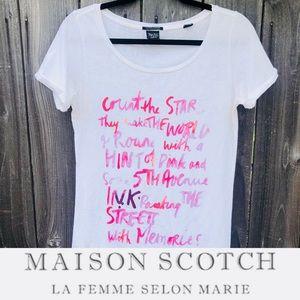 "Masion Scotch ""count the stars"" t-shirt"